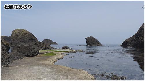 越前松島の長茶ヶ浜