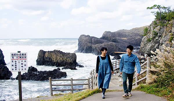 越前松島の海岸
