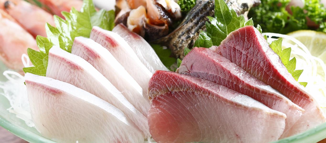 東尋坊ちかくの民宿・旅館の海鮮料理